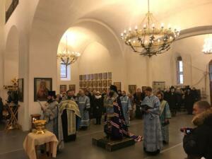 Чин освящения колоколов и колокольни