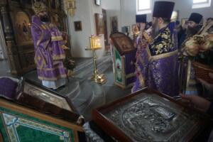 Литургия архиерейским чином 22.03.2019