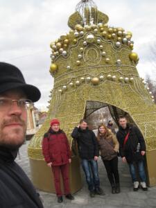 Посещение храма сиротами на Масленицу