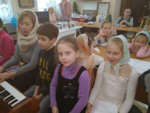 Занятия в Воскресной школе 4.02.2019