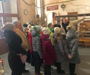 Учащиеся школы 1503 посетили храм