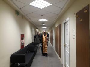 Молебен перед спектаклем Князь Владимир Красно Солнышко. Искания о Князе Владимире».